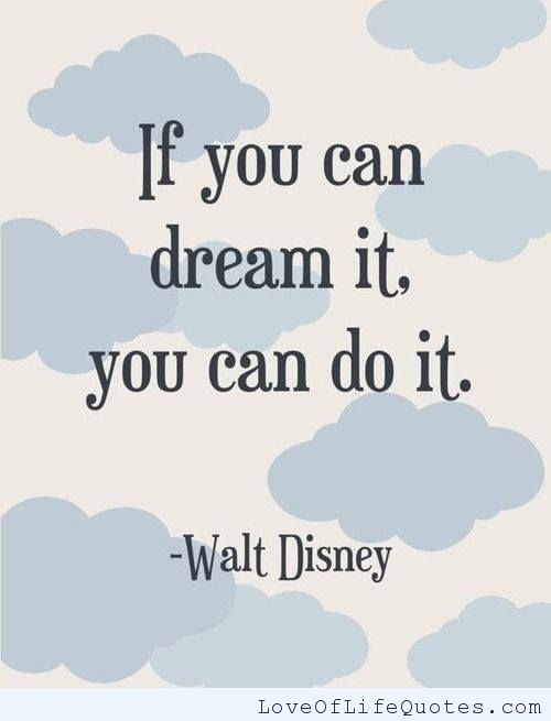 Disney Quotes About Dreams. QuotesGram