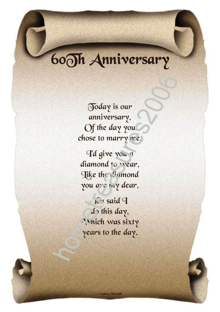 Wedding Anniversary Gifts For Him Paper Canvas 10 Year: 60th Wedding Anniversary Quotes. QuotesGram