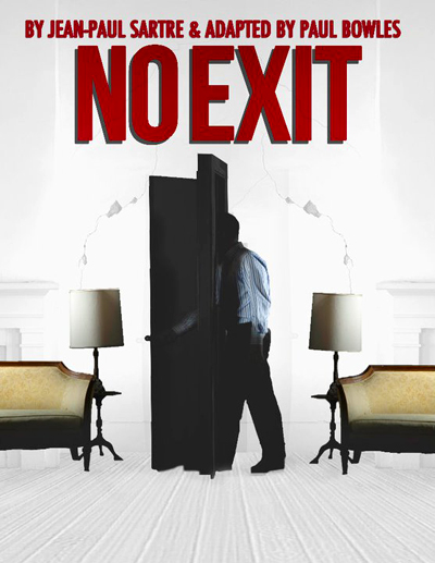 the uniting of three souls in jean paul sartres play no exit