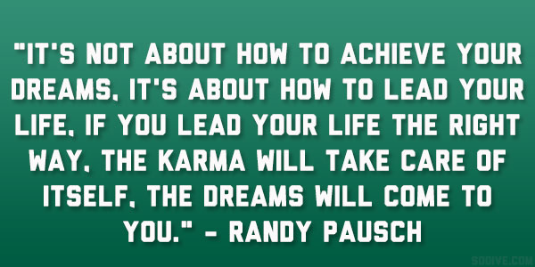 Showing Gratitude Randy Pausch Quotes. QuotesGram