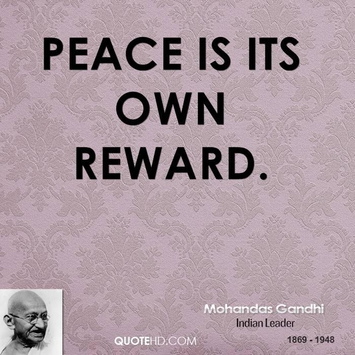 Famous Quotes About Peace: Gandhi Peace Quotes Famous. QuotesGram