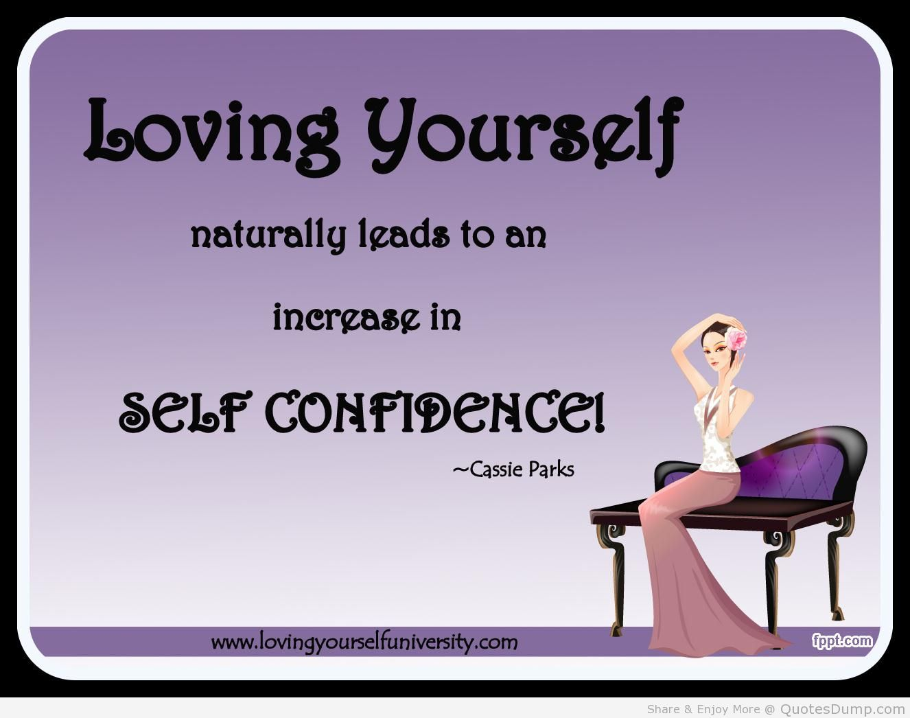 how to get more self confidence at work