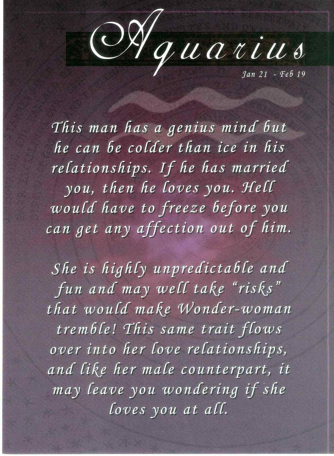 Black Women White Men Love >> Aquarius Men Quotes. QuotesGram