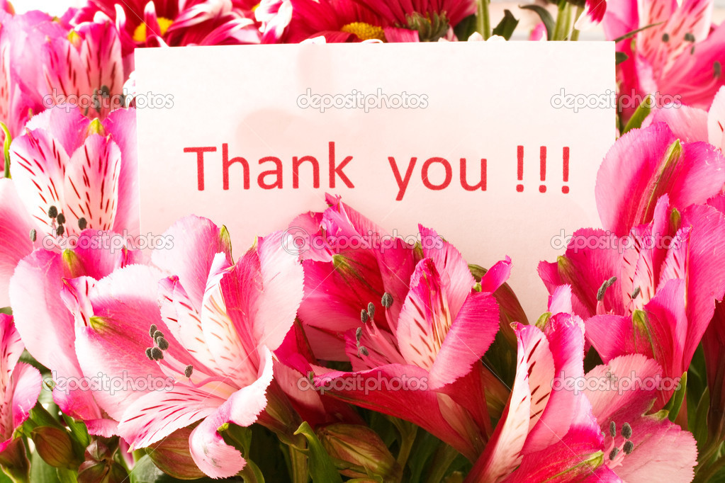 Thank you quotes with flowers quotesgram