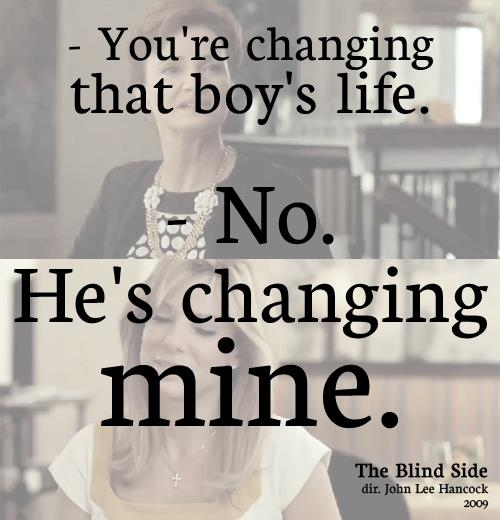 Blind Quotes: Favorite Quotes From The Blind Side. QuotesGram