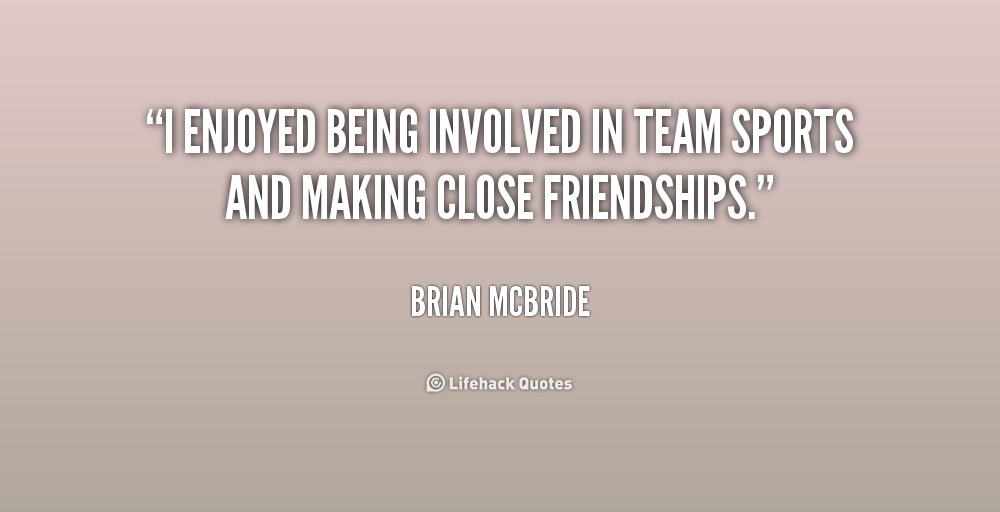 Motivational Quotes For Sports Teams: Quotes About Teammates Being Family. QuotesGram