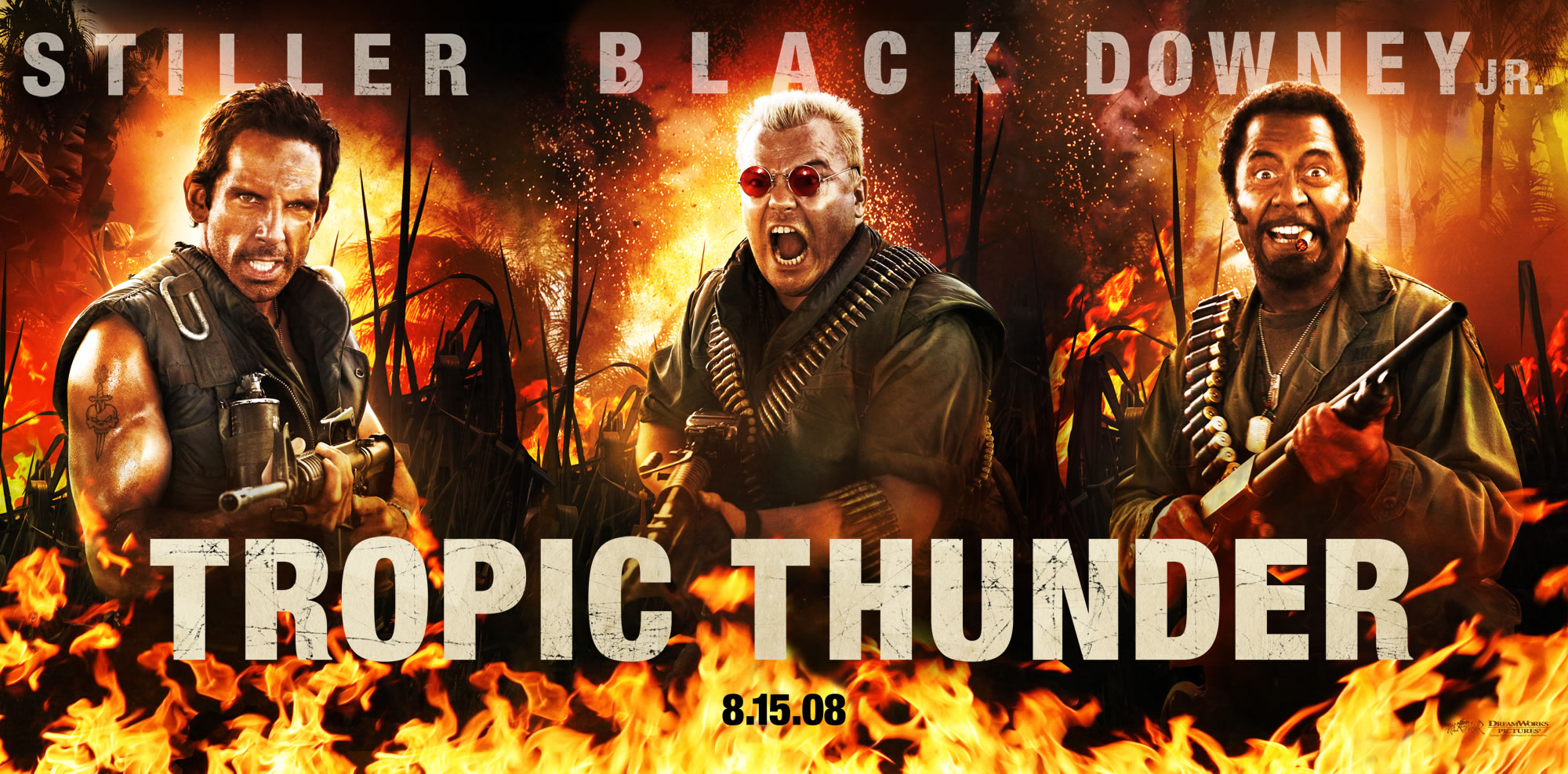 Tropic thunder movie music