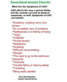 Generalized Anxiety Disorder Quotes. QuotesGram