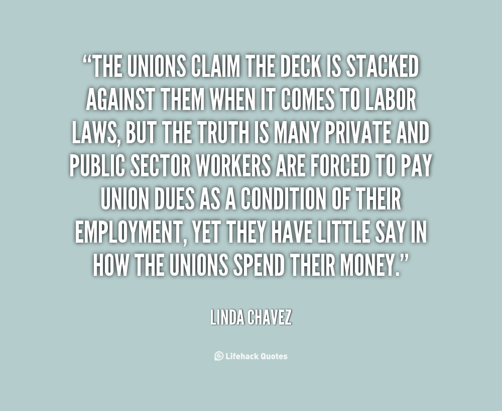 the labor union Time and again, kavanaugh has ruled against working people, especially those  pursuing employment discrimination claims and trying to join together in a union .