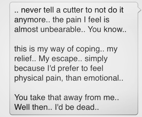 Quotes About Cutting Yourself. QuotesGram