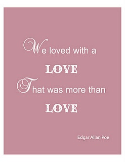 Edgar Allan Poe Love Quotes. QuotesGram