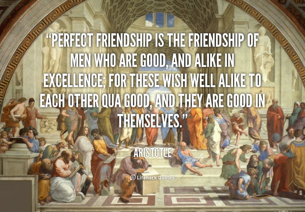 Aristotle Quotes On Perfection Quotesgram