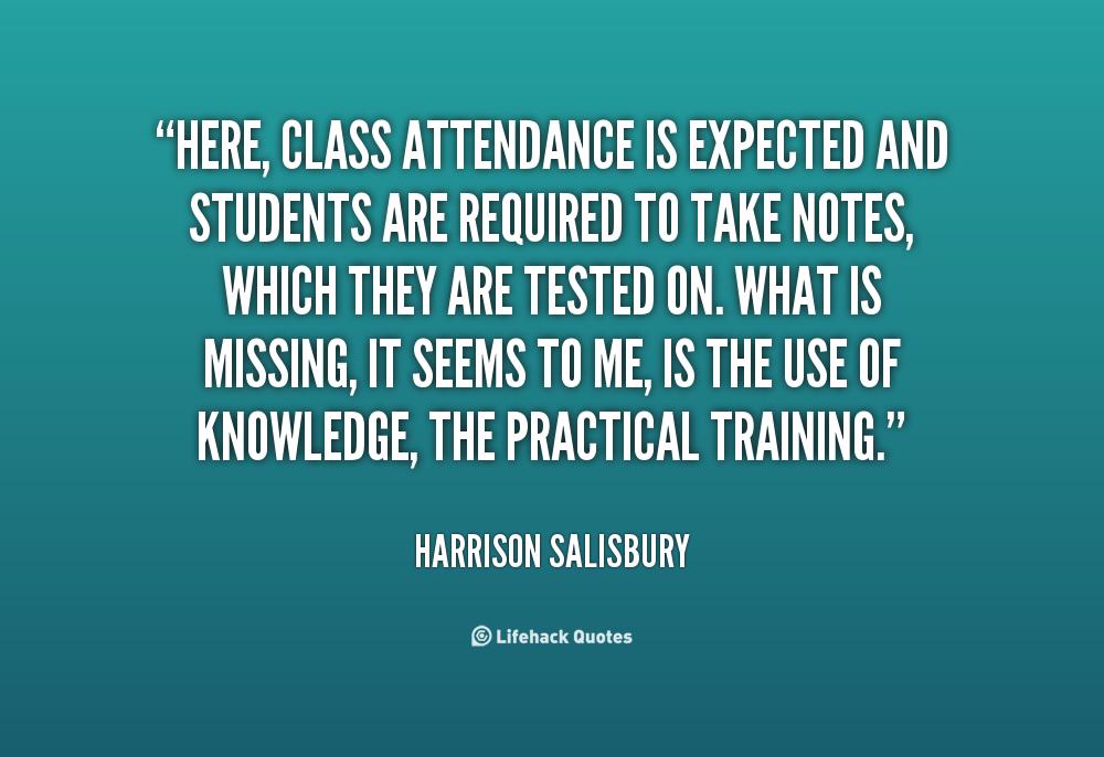 work attendance quotes  quotesgram
