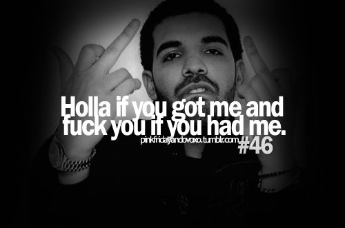 Drake Quote The Worse Feeling Is When Someone Makes You: Drake Best Quotes Ever. QuotesGram
