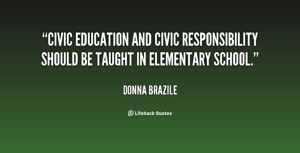 Civic responsibility quotes