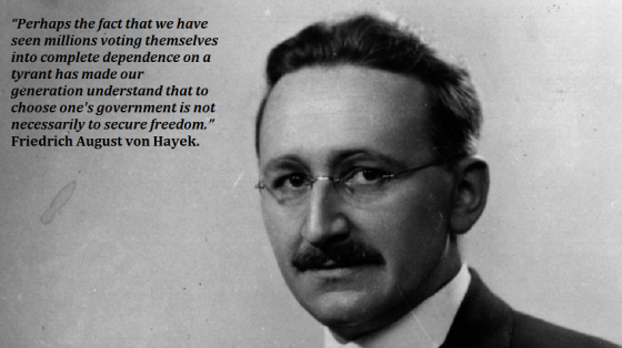 a biography of the life and times of friedrich august von hayek Friedrich august von hayek was born in vienna in 1899 to a family  years  ahead of their time, hayek's disciple arthur seldon, founder of the.