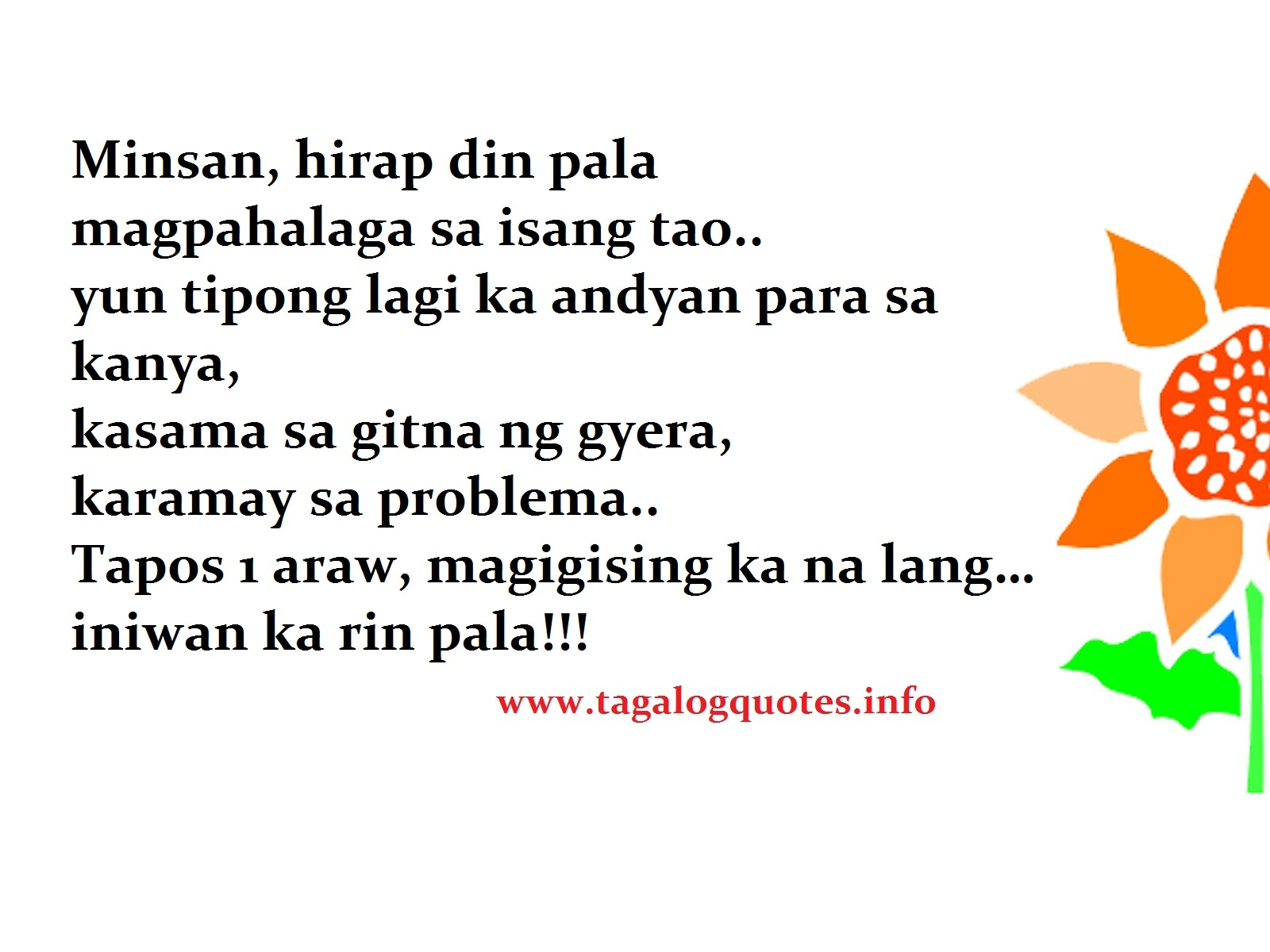 Sad Love Story Quotes Text Tagalog Image Quotes At: Tagalog Sad Love Quotes. QuotesGram