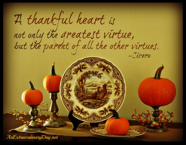 express thanksgiving to god