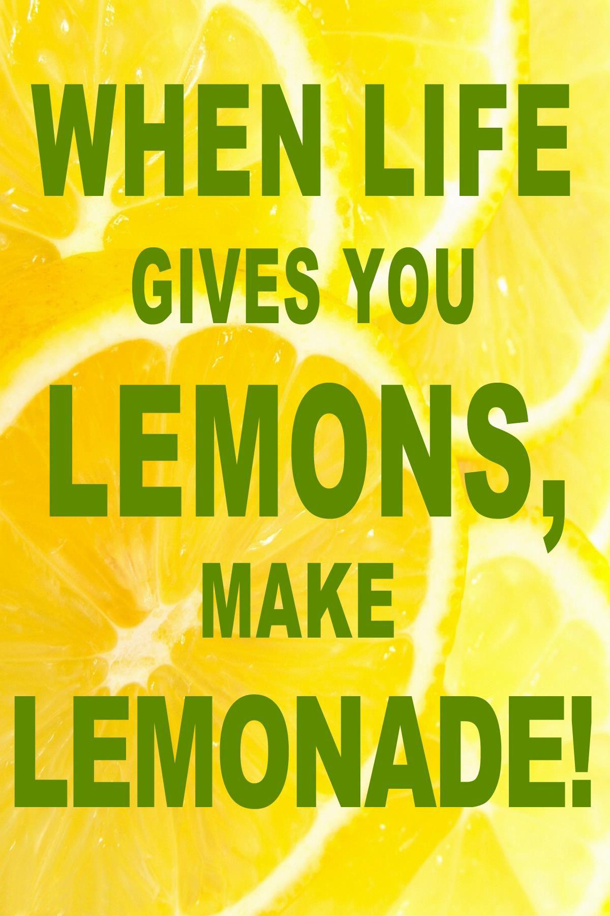 lemonade quotes quotesgram. Black Bedroom Furniture Sets. Home Design Ideas