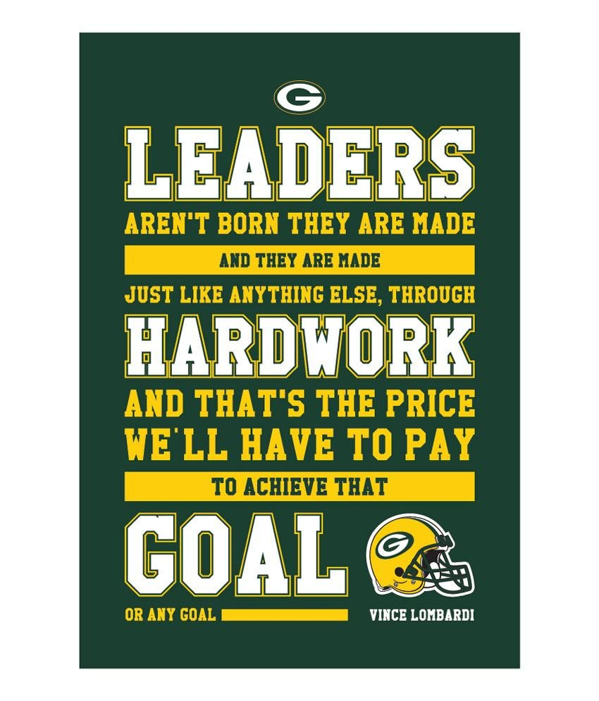 inspirational sports quotes vince lombardi quotesgram