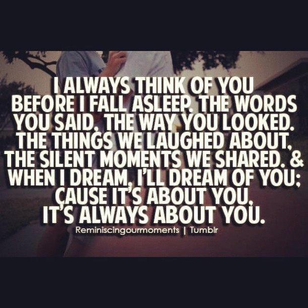 Thinking Of You Quotes: Always Thinking Of You Quotes. QuotesGram