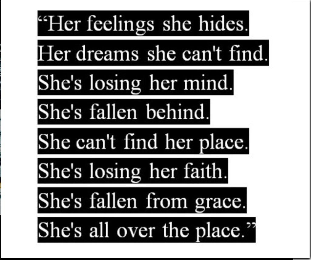 For feelings you shes her hiding 25 Signs