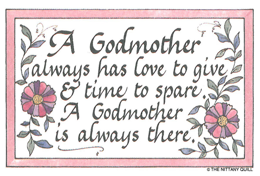45 Best Birthday Wishes For Godmother: Godmother Quotes And Sayings. QuotesGram