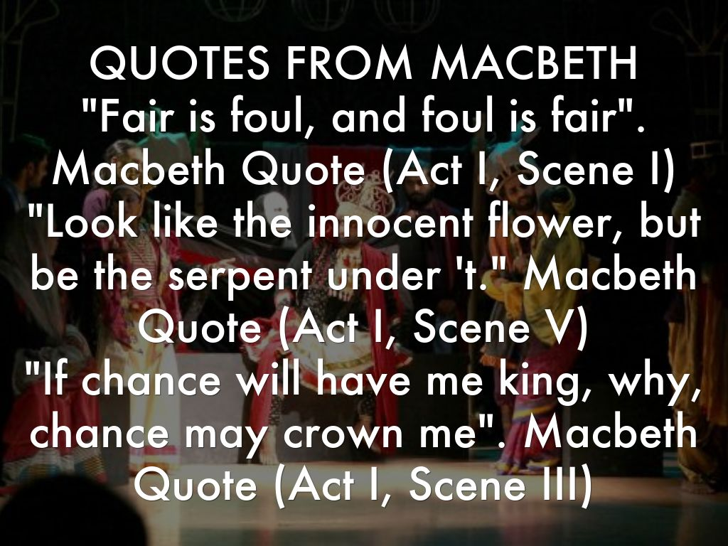 macbeth ambition quotes  macbeth quotes