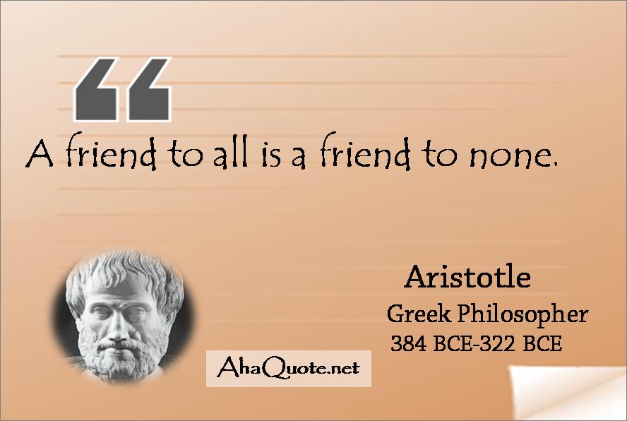 Friendship Quote Brainy : Aristotle brainy quotes quotesgram