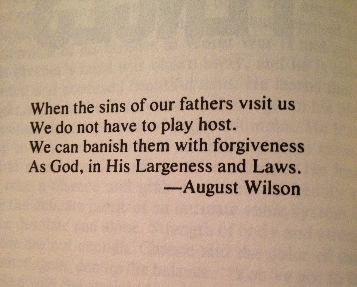 August Wilson Quotes Quotesgram