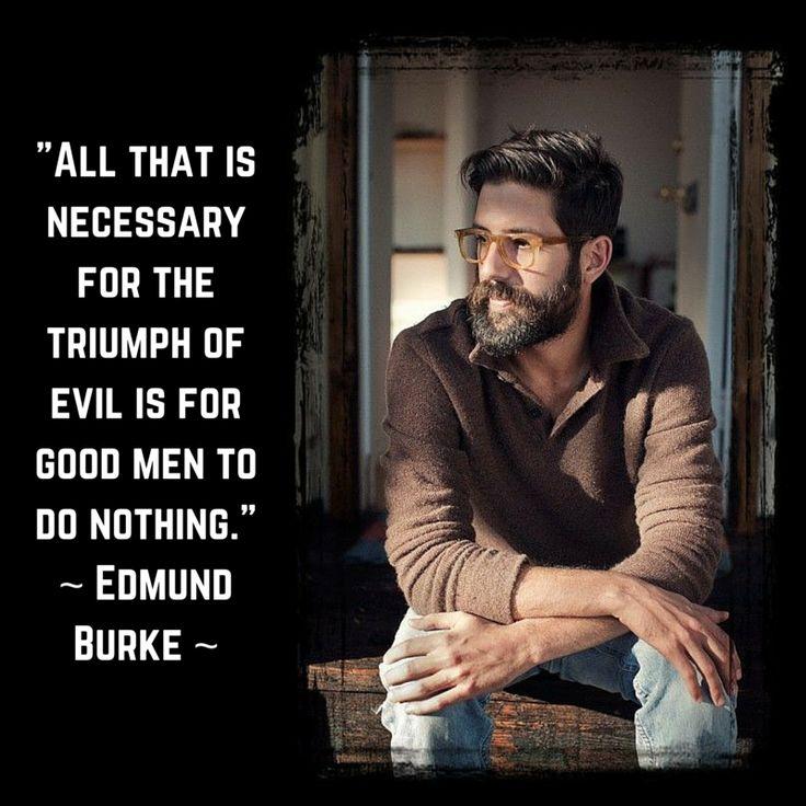Quotes About Good Men: Good Men Doing Nothing Edmund Burke Quotes. QuotesGram