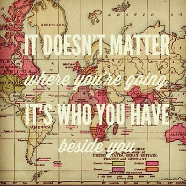 Travel Mantra: Quotes Friendships Traveling Different Roads. QuotesGram