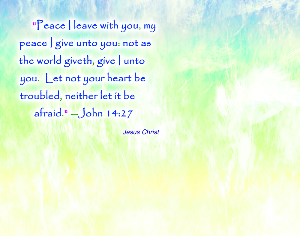 Peace Quotes And Sayings Quotesgram: Jesus Quotes About Peace. QuotesGram