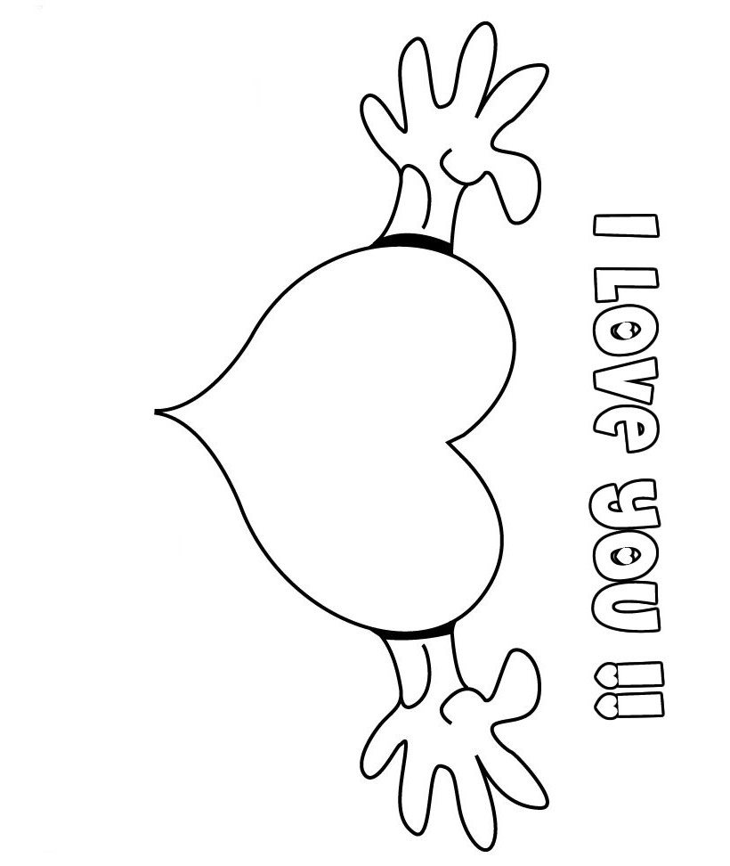true love coloring pages - photo#27