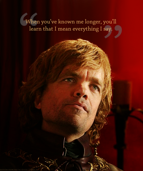 game of thrones tyrion quotes quotesgram