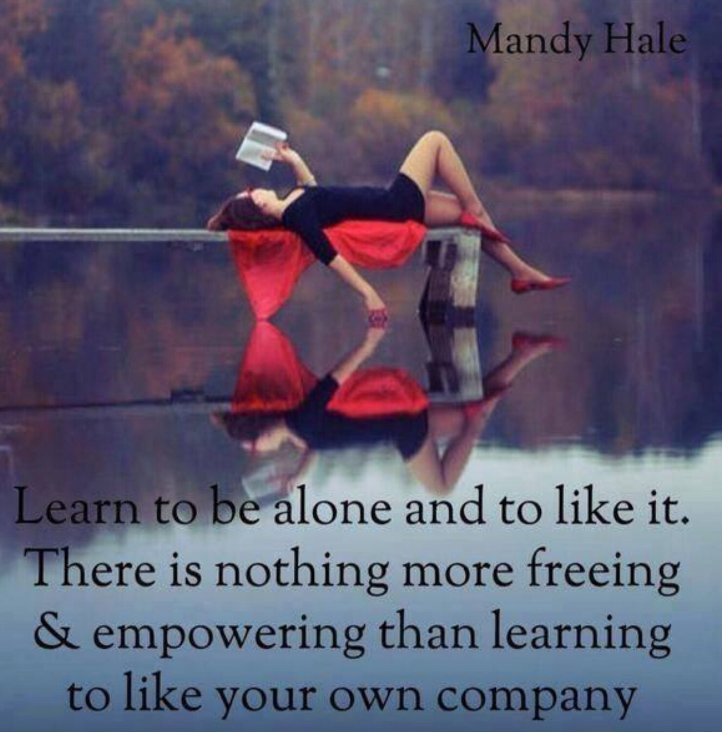 To Be Your Life And Gifts: Enjoy Your Own Company Quotes. QuotesGram