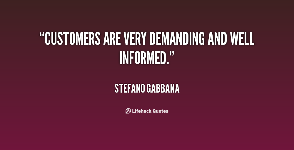 Quotes We Love Our Customers. QuotesGram
