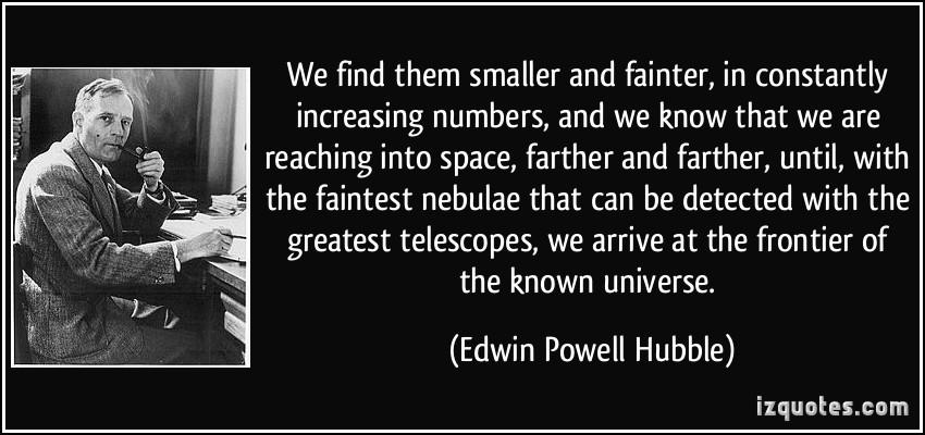 edwin hubble quotes - 850×400