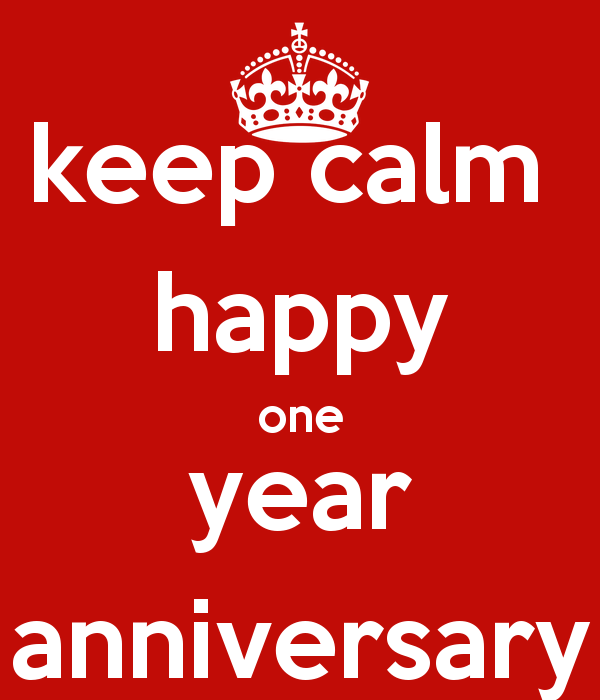 One Year Anniversary Quotes: 1 Year Work Anniversary Quotes Happy. QuotesGram