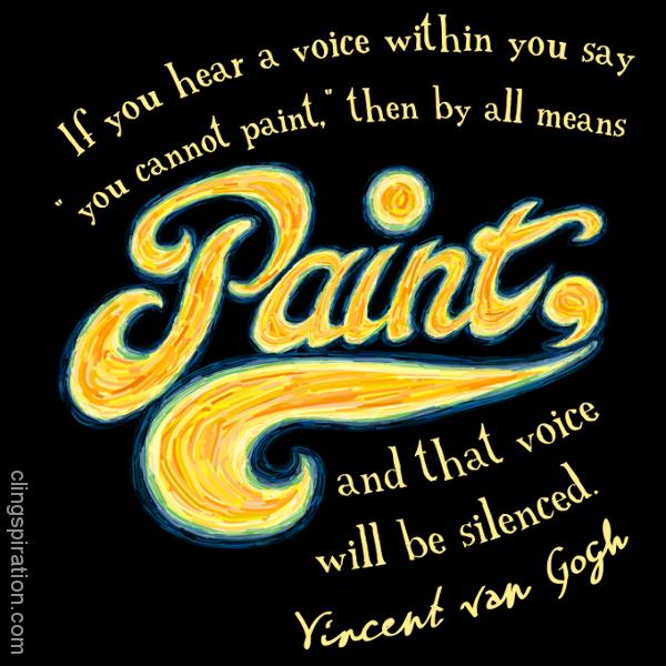 inspirational quotes art  quotesgram
