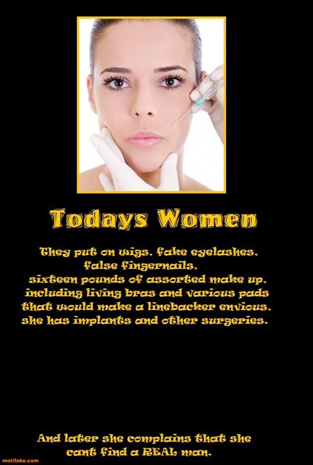 A Fake Woman Quotes. QuotesGram