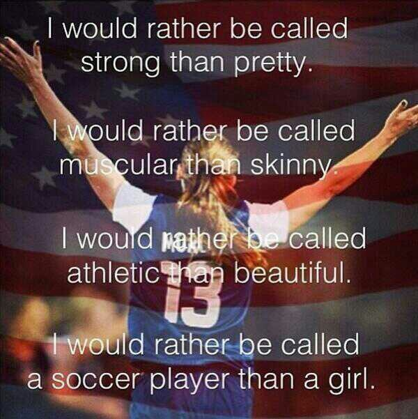 Quotes About Soccer Girls: Quotes About Girl Soccer Players. QuotesGram