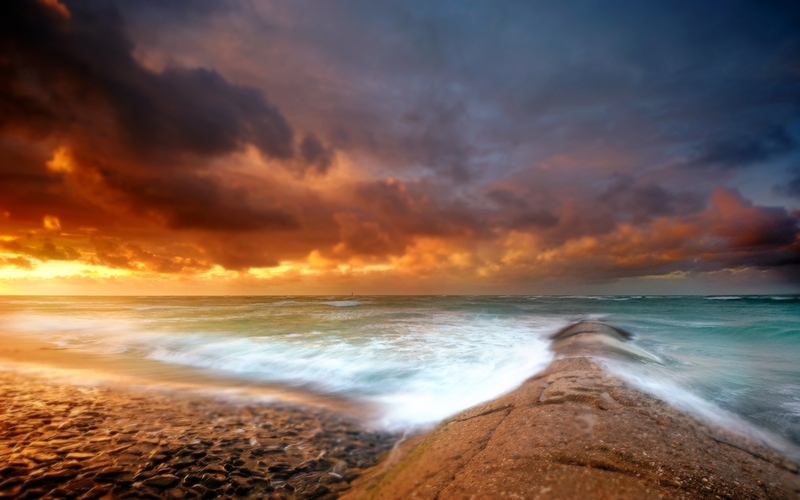 Beach And Ocean Storm: Beach Thunderstorm Quotes. QuotesGram