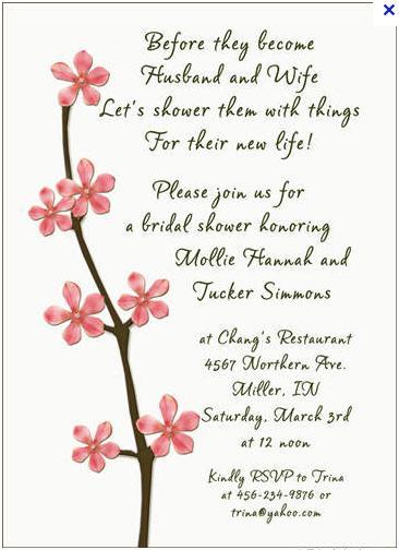 Cute Wedding Shower Quotes Quotesgram