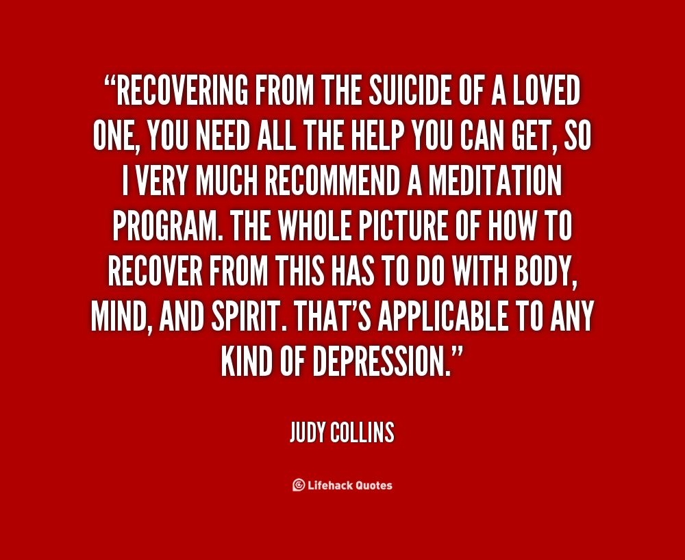 Suicide Quotes Inspirational: Suicide Recovery Quotes. QuotesGram
