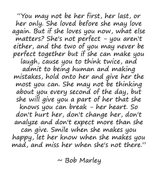 Bob Marley Quotes About Love. QuotesGram