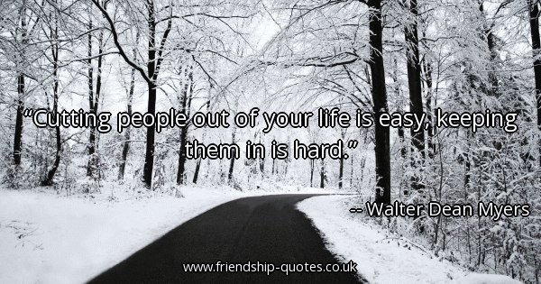 Cutting People Out Of Your Life Quotes. QuotesGram