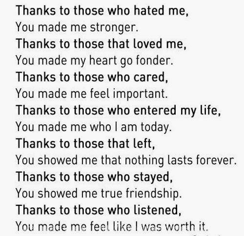 Thank You For Making Me Stronger Quotes: You Made Me Stronger Quotes. QuotesGram