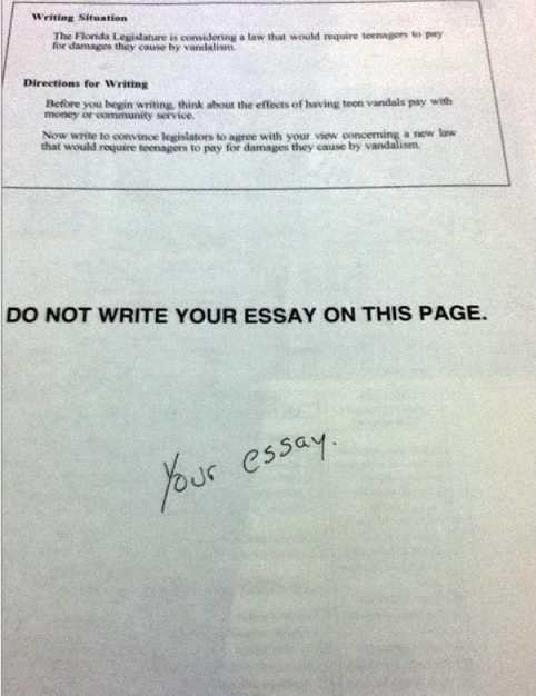 Direct essays