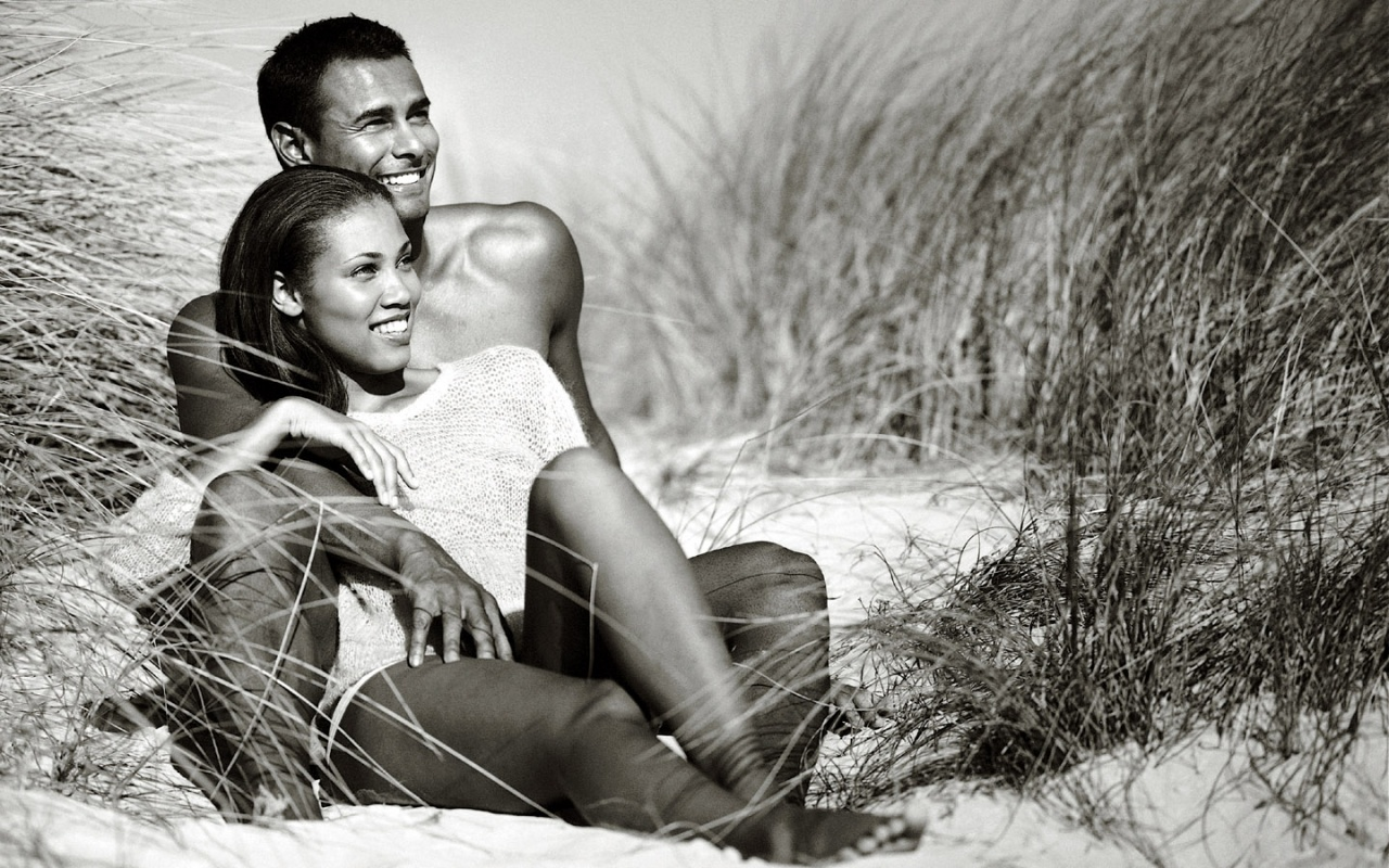 Boob pictures of black couples in love